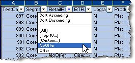 Excel as a Testing Tool